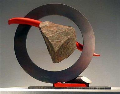 sisyphean circle xliv by john van alstine