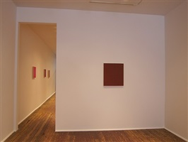 marcia hafif from the inventory late roman paintings<br>installation view within front room by marcia hafif