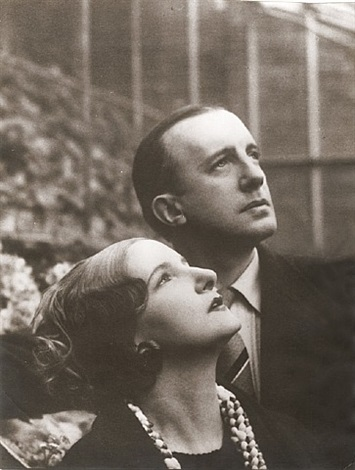 paul eluard and valentine hugo by man ray