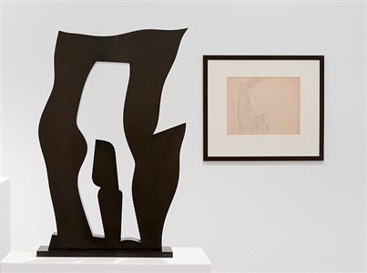 warhol arp silhouettes by hans arp