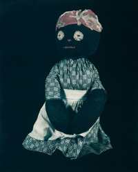 untitled (from the blackface series #171) by david levinthal