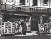 lyric theatre, by berenice abbott