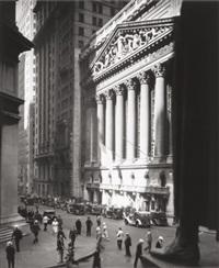 new york stock exchange, by berenice abbott