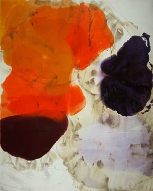 orange crescent by dirk de bruycker
