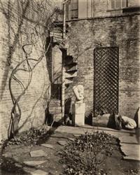 naguchi gardens, washington square by berenice abbott