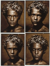 golden boy, contact, new york city by albert watson