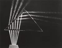 light through prism by berenice abbott