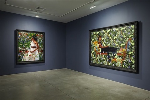 installation view by kehinde wiley