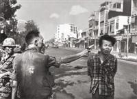 street execution of a vietcong prisoner, saigon by eddie adams