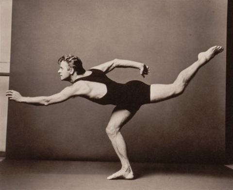 mikhail baryshnikov (from the year of tibet portfolio) by annie leibovitz