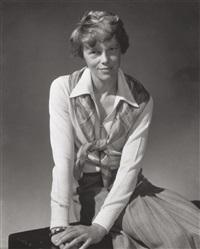 amelia earhart, for vanity fair by edward steichen