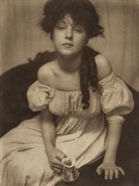 portrait (miss n.) by gertrude kasebier