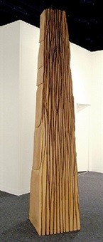 rip cut column by david nash