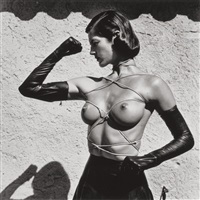 tied-up torso, ramatuelle by helmut newton