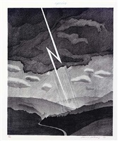 lightning by david hockney
