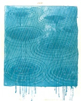 rain by david hockney