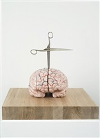 brain with star by jan fabre