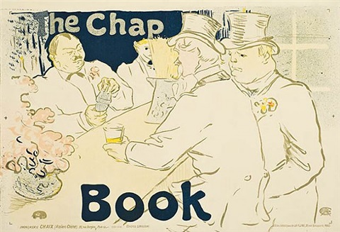 irish and american bar, rue royale-the chap book by henri de toulouse-lautrec
