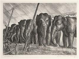 elephants by john steuart curry