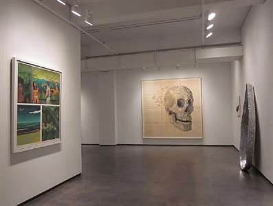 installation view, alter egos, 2012