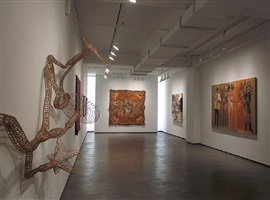 installation view, alter egos, 2012