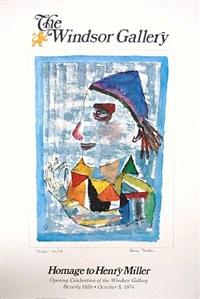 homage to henry miller/the joker (windsor gallery, 1974) by henry miller