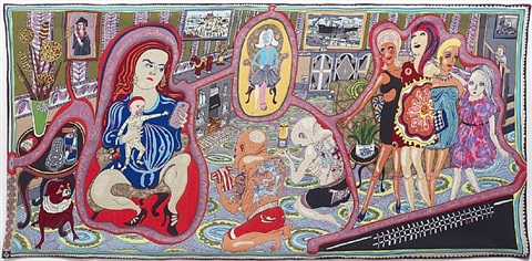 the adoration of the cage fighters by grayson perry