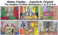 matematico 1 – 2 – 3 – 4 – 5 - 6 by mimmo paladino