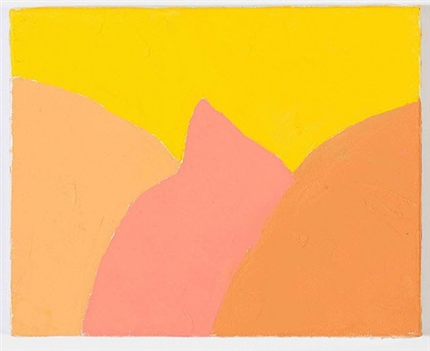 untitled, # 144 by etel adnan