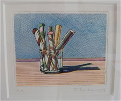 glassed candy by wayne thiebaud
