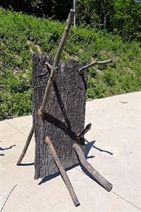 lo spazio della scultura by giuseppe penone
