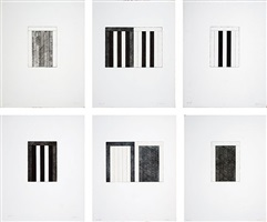 from 12 views for caroline tatyana by brice marden