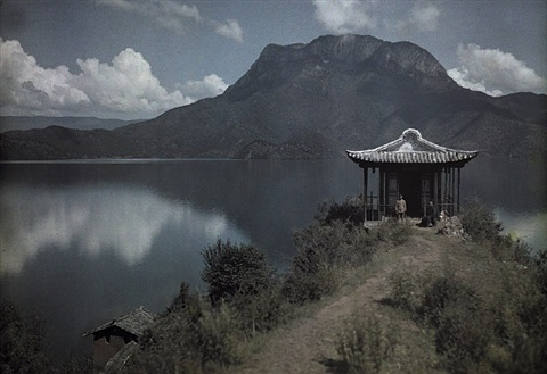 yongning lamersery, nyorophu island, yunnan, january 1929 by joseph f. rock