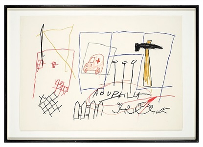 aouphilla by jean-michel basquiat