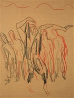wigman-tanzgruppe by ernst ludwig kirchner