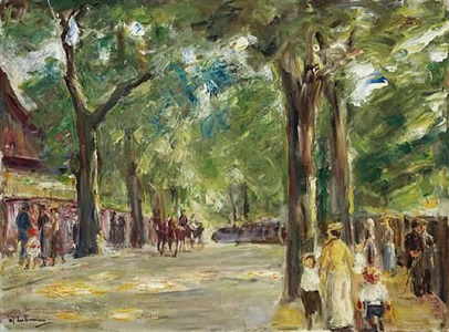 max liebermann by max liebermann