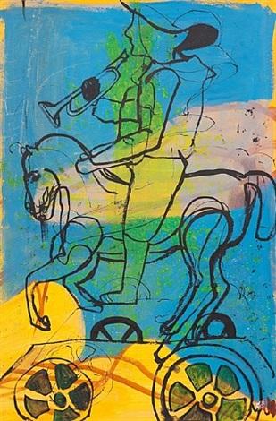 horse by alexandra wiesenfeld