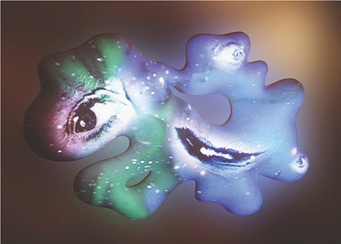 cosmic cloud by tony oursler