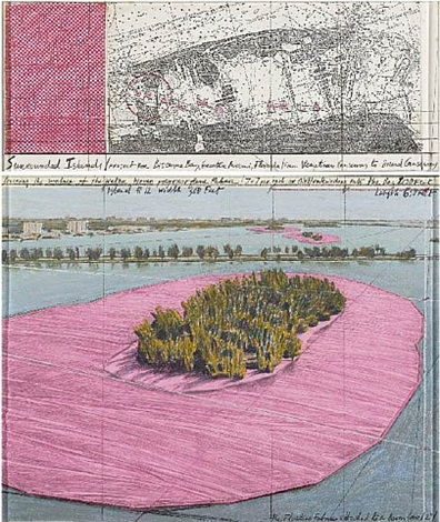 surrounded islands (biscayne bay) by christo and jeanne-claude