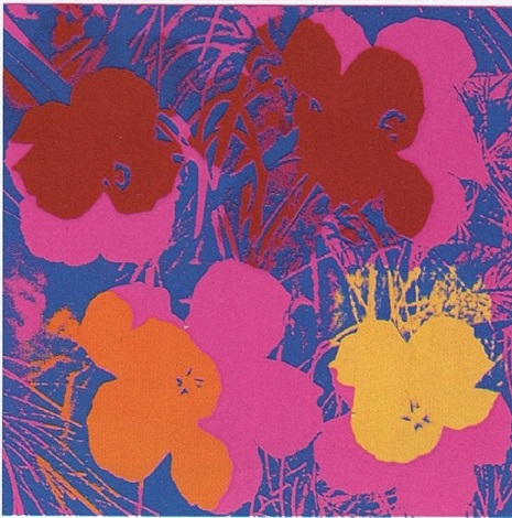 flowers #66 by andy warhol