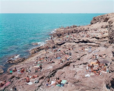 by the sea by massimo vitali