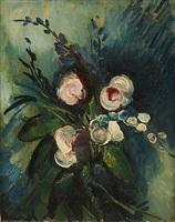 bouquet de fleus by maurice de vlaminck