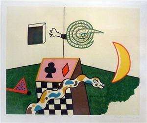 snake box by alan davie