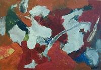 forms on red #2 by john von wicht