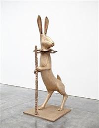 nouveau lapin de victoire (grand) by claude lalanne