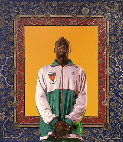 idrissa ndiaye by kehinde wiley