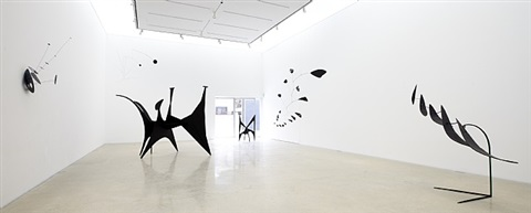 installation view by alexander calder