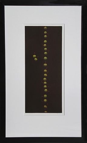 twenty-two cherries (green) by yozo hamaguchi