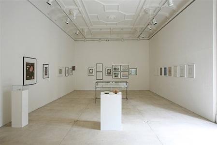 installation view galerie krinzinger, wien 2012 by meret oppenheim