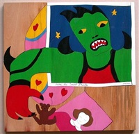 mechant-mechant puzzle by niki de saint phalle